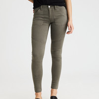 AEO Denim X Jegging, Dusty Sage