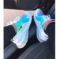 Bunchsun Nike Air Max 270 Fashion Women Men Personality Air Cushion Running Sport Shoe Sneakers