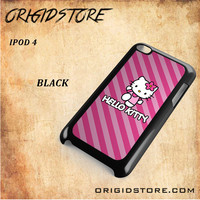 hello kitty For Ipod 4 Case - Gift Present Multiple Choice