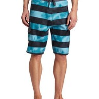 Burnside Men's Wring Boardshort, Teal, 32