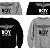 Boy london sweatshirt jumper pullover  by Meronepal on Etsy