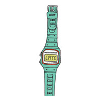 You're Late (Turquoise)