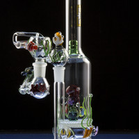 """Empire Glassworks """"Ocean Critters"""" Water Pipe"""