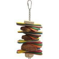 A&e Cage Company - Java Wood Stick Stack Bird Toy