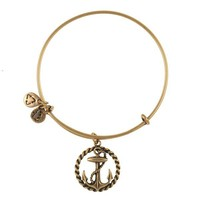 Alex and Ani Nautical Charm Bangle - Russian Gold