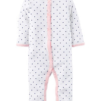 Cotton Snap-Up Footless Sleep & Play
