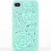 With Love From CA Emboss Floral iPhone 4 Case at PacSun.com