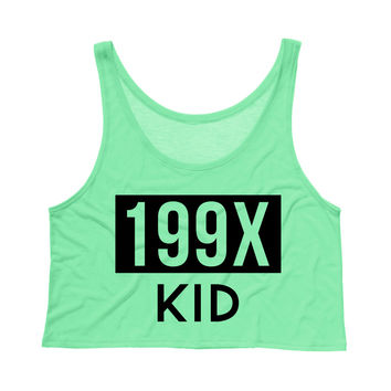 199X Kid Tank Top Crop