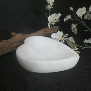 Marble Heart Bowl