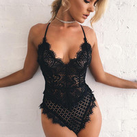 Hot Deal On Sale Cute Sexy Uniform Lace Set Exotic Lingerie [10399797709]
