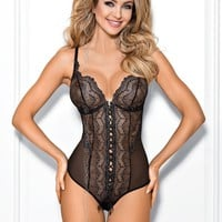 Axami V-7780 Caramel Fudge Body Teddy