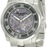 Kenneth Cole New York Men's KC3828 Automatic Gunmetal Ion-Plated Bracelet Watch