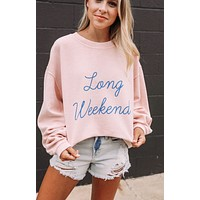 Long Weekend Sweatshirt