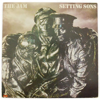 Vintage 70s The Jam Setting Sons Mod Punk Album Record Vinyl LP