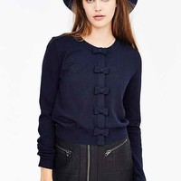 Cooperative Bow-Front Cardigan-