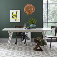 Parker Mid-Century Expandable Dining Table