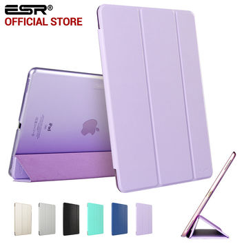 ESR PU Leather Tri-fold Stand Smart Cover Case with Translucent Back for iPad Pro 12.9