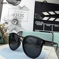 Karen Walker Woman Fashion Summer Sun Shades Eyeglasses Glasses Sunglasses