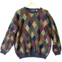 """""""Diamonds Are Forever"""" Cosby Style Ugly Sweater - The Ugly Sweater Shop"""