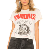 Madeworn Ramones Sedated Tee in Dirty White