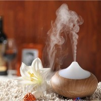 Quality Wood Grain LED Aroma Diffuser & Air Purifier/Humidifier