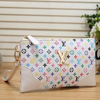 Women Leather Handbag Tote Clutch Bag