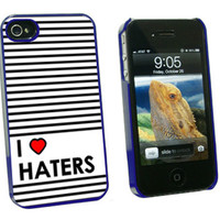 I Love Heart Haters iPhone 4-4S Case