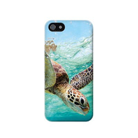 P1377 Ocean Sea Turtle Case Cover For IPHONE 5/5S