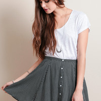 Spot The Difference Skirt By MINKPINK