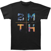 Bring Me The Horizon Men's  Colours T-shirt Black Rockabilia