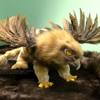 Sale Eagle Griffin Poseable Art Doll