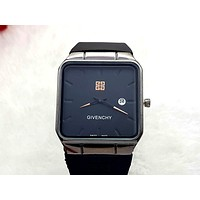 Givenchy 2019 new men and women models simple wild quartz watch