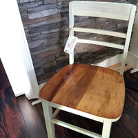 Antique, Solid Wood Dining Room Chair, Bistro Chair, Antique Chair, Desk Chair, Wood Chair, Farmhouse Cottage Furniture, Furniture