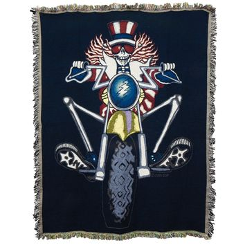 Grateful Dead - Psycle Sam Woven Blanket