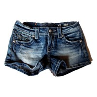 Miss Me Shorts-Paradise Wings  (size 26)