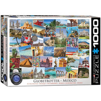 Globetrotter - Mexico - 1000 Piece Jigsaw Puzzle