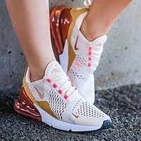 NIKE AIR MAX 270 Women's Atmospheric Cushion Sneakers Shoes