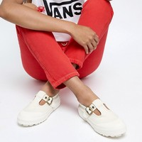 Vans Exclusive White Mary Jane Style 93 Trainers at asos.com