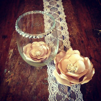 Beautiful and Elegant Floral Bling Centerpiece
