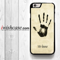 Skyrim Dark Brotherhood We Know for iPhone 4 4S 5 5S 5C 6 6 Plus , iPod Touch 4 5  , Samsung Galaxy S3 S4 S5 S6 S6 Edge Note 3 Note 4 , and HTC One X M7 M8 Case
