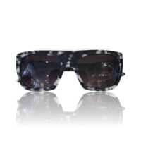 Missoni Blue Marble Square Sunglasses