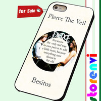 Pierce The Veil Song Lyrics Band custom case for smartphone case