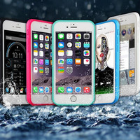 Waterproof Underwater Shockproof Durable Full Sealed Protective Case Cover iPhone 6S 6 Plus 5S 5 Se