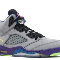 PEAPN Ready Stock Nike Air Jordan 5 Retro Bel Air Gray Purple Green Basketball Sport Shoes