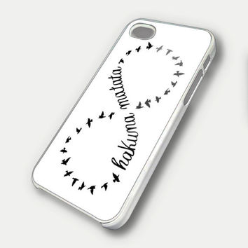 disney funny hakuna matata infinity - iPhone 4 Case, iPhone 4s Case and iPhone 5 case FDL7