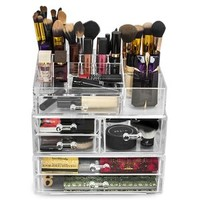 Rebrilliant 7 Drawer Cosmetic Organizer | Wayfair