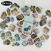 45pcs Modern photographer sticker cute camera paper decoration sticker diy handmade album diary scrapbooking sticker Arts,Crafts
