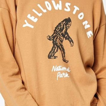 LA Hearts Yellow Stone Pullover Sweatshirt at PacSun.com