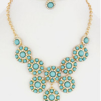 Its Only Make Believe Necklace Set - Mint