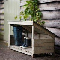 daisyhardcastle — Daisy Hardcastle Outdoor Wooden Storage Box and wellie boot store